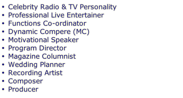 Celebrity Radio & TV Personality